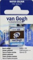 Van Gogh Aquarell Näpfchen umbra gebrannt