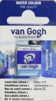 Van Gogh Aquarell Näpfchen kobaltblau ulramarin