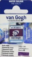 Van Gogh Aquarell Näpfchen Dämmerung violett