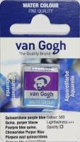 Van Gogh Aquarell Näpfchen chinacridon purpurblau