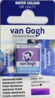 Van Gogh Aquarell Näpfchen interferenz violett