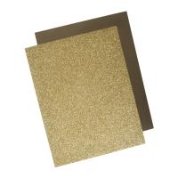 Metallic Bügel-Transferfolie gold
