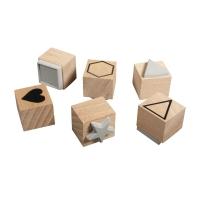 Holzstempelset Basic