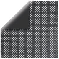 Rayher Scrapbook-Papier Glitter-Dots schwarz