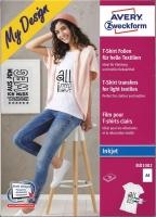 T-Shirt Folien für helle Textilen