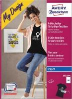 T-Shirt Folien für dunkle Textilen