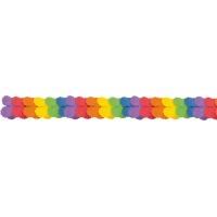 Papiergirlande Regenbogen 365cm