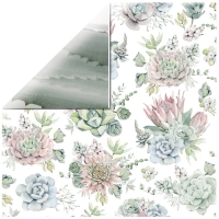 Scrapbooking Papier Greenhouse - Succule