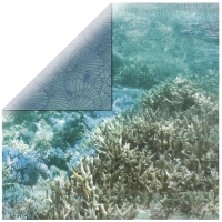 Scrapbooking Papier Deep Sea -  Barrier Reef