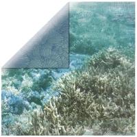 Scrapbooking Papier Deep Sea -  Barrier Reef
