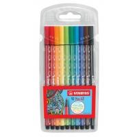 Premium-Filzstift STABILO® Pen 68 Etui, mit 10 Farben