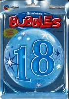 Bubbleballon 18 blau