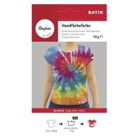 Rayher Batik Handfärbefarbe kirschrot (Restbestand)