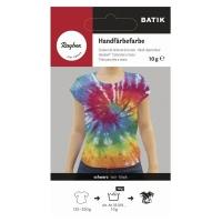 Rayher Batik Handfärbefarbe schwarz (Restbestand)