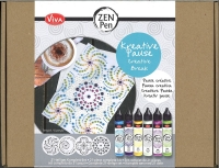 Zen Pen Kreative Pause - 21-teiliges Komplett-Set