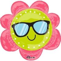 Folienballon Fun in the Sun Flower