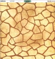 Scrapbooking Papier Safari - Spots (Restbestand)