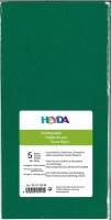 Seidenpapier 50x70 cm dunkelgrün 5 Blatt