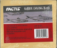 Factis Rubber Carving Block 9x7,8x0,7cm