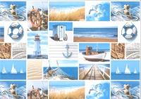 Motiv-Fotokarton 300g/qm 49,5x68cm Maritim Motiv 1