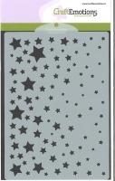 Schablone Sterne