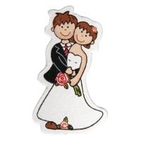 Holz-Streuteile Brautpaar