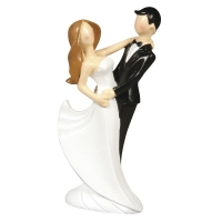 Polyresin Brautpaar modern