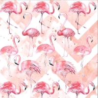 Scrapbook Papier Lets flamingle 01