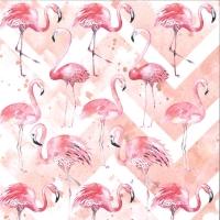 Scrapbook Papier Lets flamingle 01 (Restbestand)