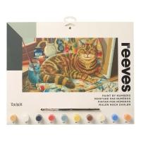 Malen nach Zahlen - Ruhende Katze