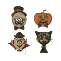 Sizzix Thinlits Die Set 10PK - Hip Haunts