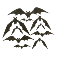 Sizzix Thinlits Die Set 10PK – Bat Crazy