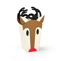 Sizzix Thinlits Die Set 6PK - Reindeer Bag