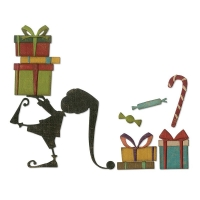 Sizzix Thinlits Die Set 11PK – Santa's Helper