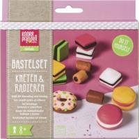 Bastelset Kneten & Radieren Tasty Candies