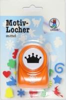 Motivstanzer mittel Krone 1 (Restbestand)