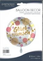 Folienballon Glückwunsch