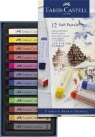 Faber-Castell Softpastellkreiden, 12er Etui