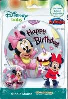 Bubbleballon Disney Baby - Minnie Mouse 1st Birthday
