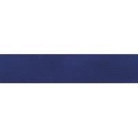 Taftband mit Webkante 25mm - mittelblau Meterware