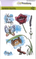 Clear Stamps Bugs 3