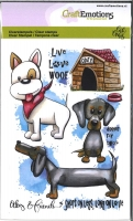 Clear Stamps Oley & Friends 3