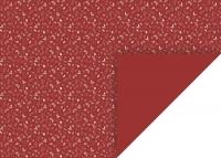 Motivkarton Zweige 50 x 70 cm rotrün