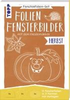 Topp 18069 - Fensterfolien-Set - Folien-Fensterbilder mit dem Kreidemarker - Herbst