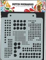 Dutch Doobadoo Stencil Blobs A5