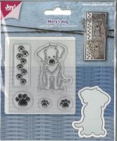 Stanze Merys dog (mit Clear stamps)