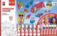 Marabu Kids Window Color - Creative Party Pack