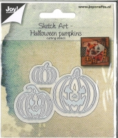 Stanze Sketch Art - Halloween Pumpkin
