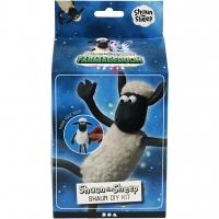 Shaun das Schaf, Weiß, Schwarz, Modellier-Set, 1Set