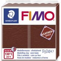 FIMO Leder-Effekt nuss